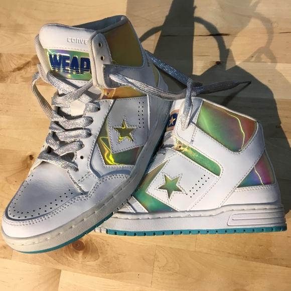 brak podatku od sprzedaży całkiem miło nieźle Converse CONS WEAPON classic holographic sneakers